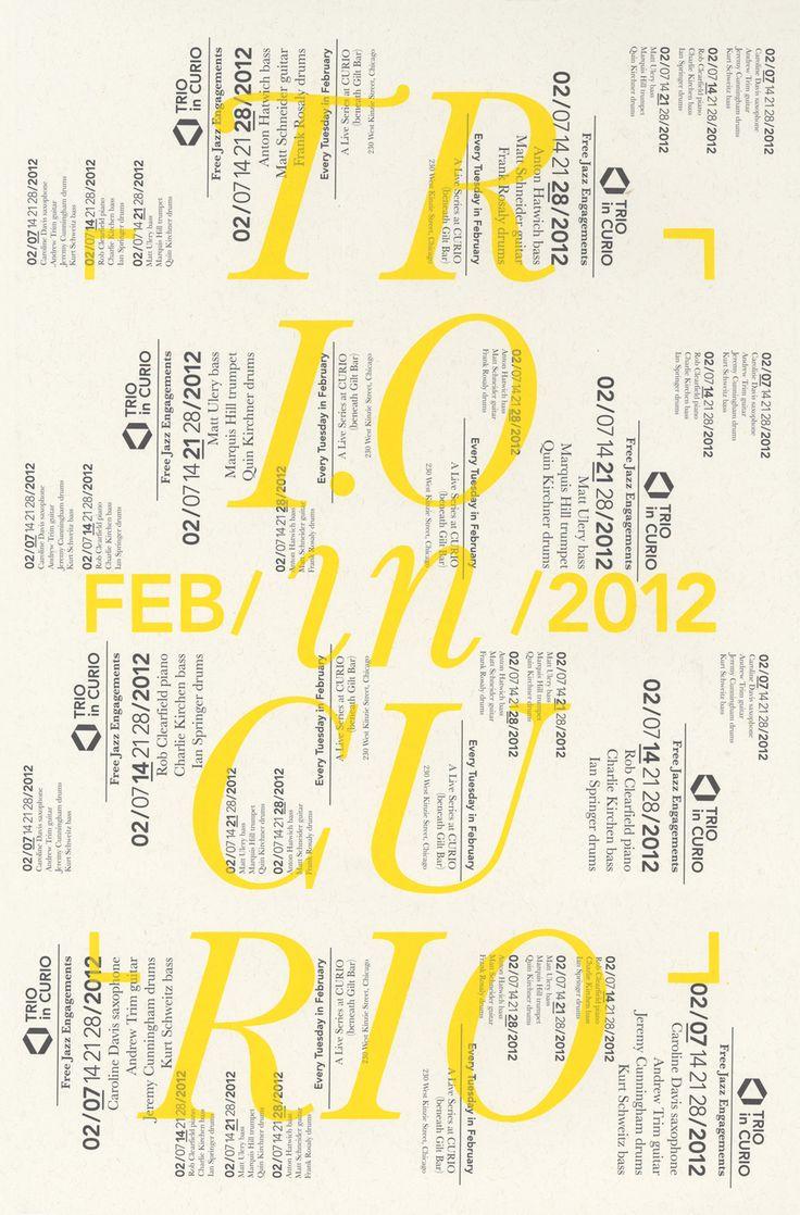 Craig Hansen Typographic design