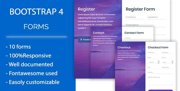 Roform Modern Bootstrap 4 Forms Free Download Nulled Latest Version