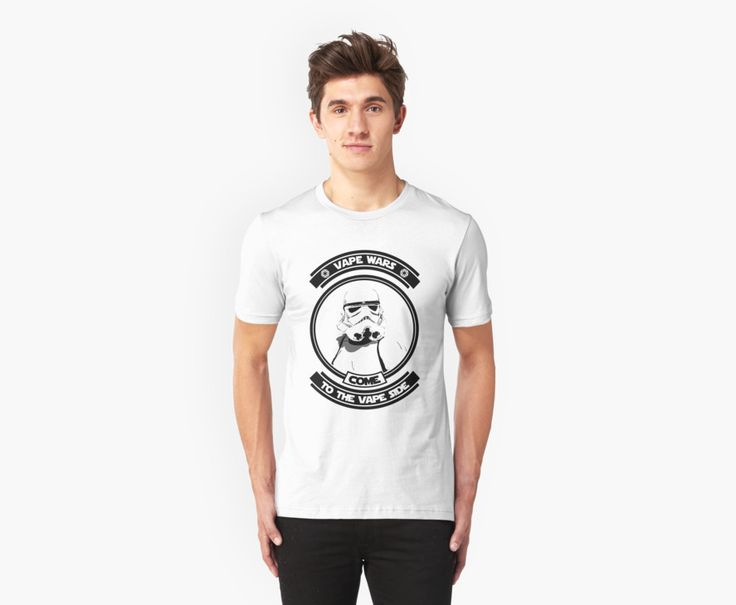Come to the Vape Side StormTrooper Vaper T-Shirt by Cudge Art https://www.redbubble.com/people/cudge82/works/25249472-come-to-the-vape-side-stormtrooper-vaper?asc=f&p=t-shirt