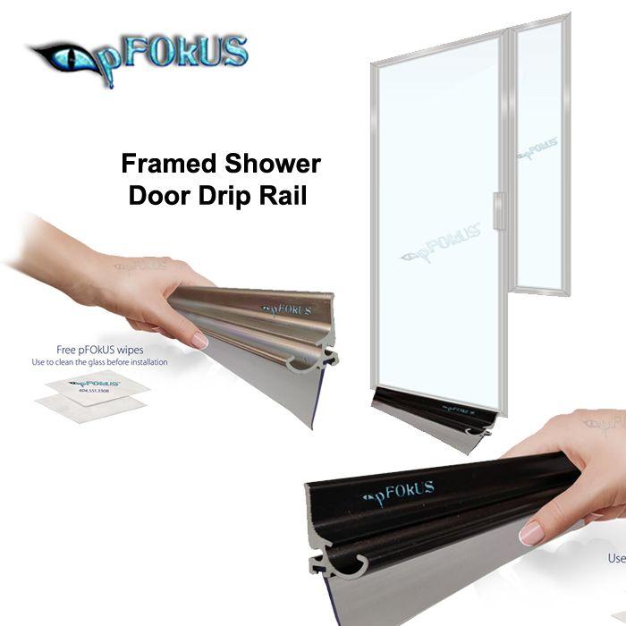 Framed Shower Door Drip Rail Framed Shower Framed Shower Door Shower Doors