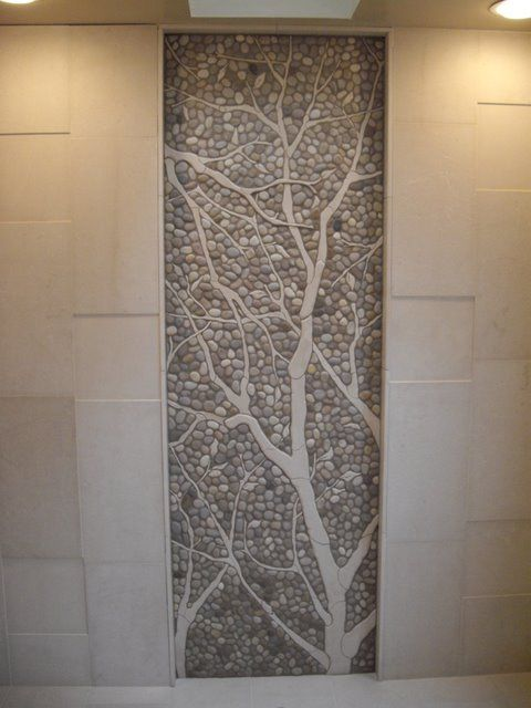 Lovely tile and stone mosaic