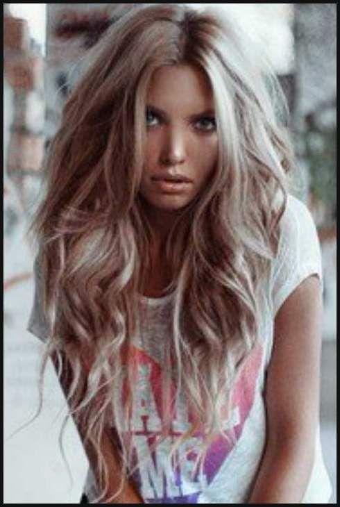 lange blonde haare stylen