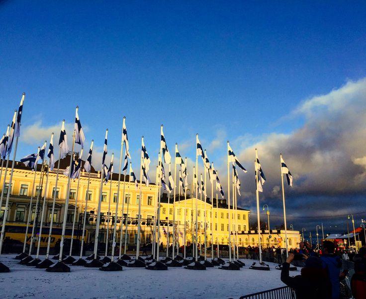 Helsinki 6th of December 2017, Finland 100 y, Finland