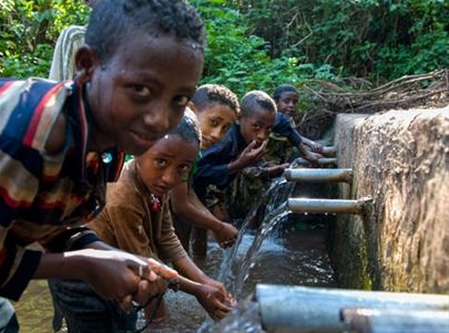 Clean water for a community