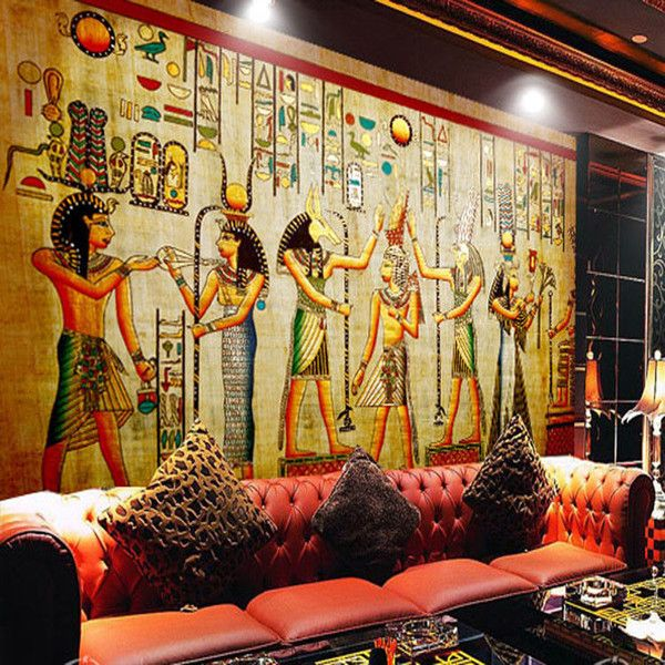 Wholesale Murals 3d Wallpapers Home Decor Photo Background Wallpaper Ancient Egyptian Civilization Mayan Elders Hotel Large Wall Art Mural Free Hd Wallpaper Free Hd Wallpapers From Fumei150716, $21.36| DHgate.Com