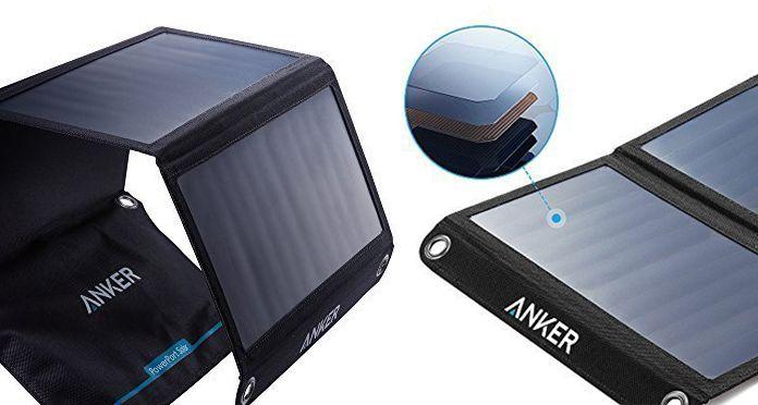 Caricabatterie a pannelli solari per ricaricare il proprio cellulare ovunque ci si trovi