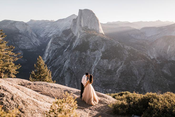 Intimate Wedding in Yosemite National Park