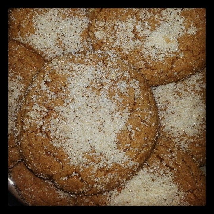 Spiced Ginger Brown Sugar Cookies | My Cheesecakes | Pinterest