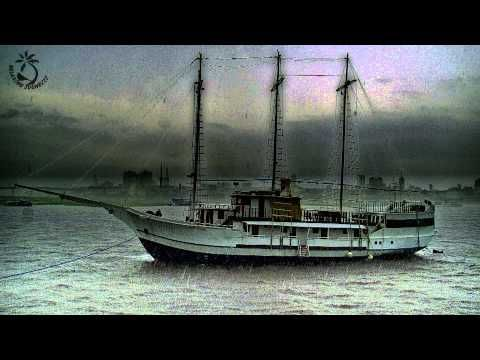 Sailing Ship in Thunderstorm Sound - Sounds Of Thunder, Ocean, And Seagulls for Relaxation - YouTube