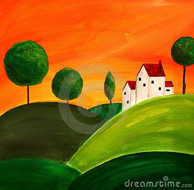 Tuscan art 3 by Tyback, via Dreamstime