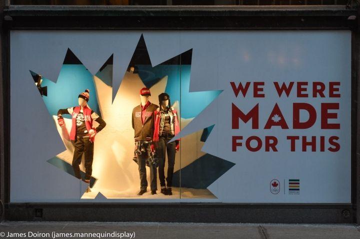 Hudson Bay 2014 Olimpiadi di Sochi finestre Toronto 06 Hudson Bay 2014 Olimpiadi di Sochi finestre, Toronto
