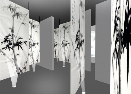 X-scape exhibition by young New Zealand Chinese artist Weilun Ha at Auckland's Alterspace Gallery