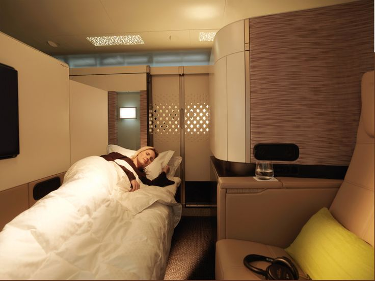 Etihad Airways Airbus A380 first class apartment sleeper
