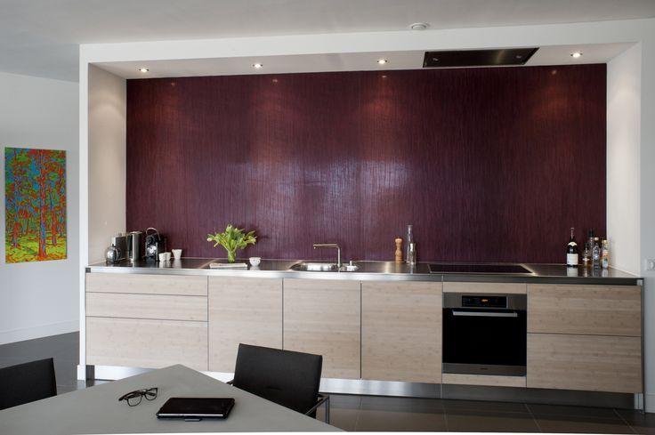 Inrichting appartement met open keuken stoere moderne open keuken