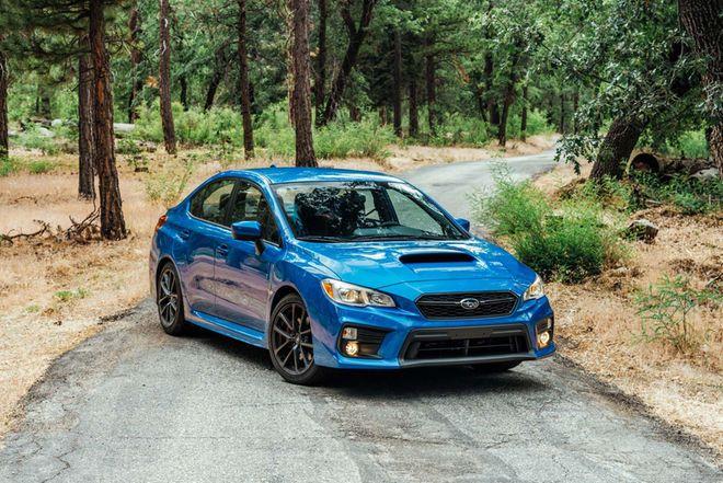 2018 Subaru WRX First Test Review - Motor Trend