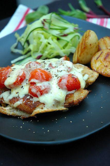 My ultimate fav GR dish. Gordon Ramsay -chicken parmesan