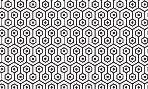 Classic Black and White pattern