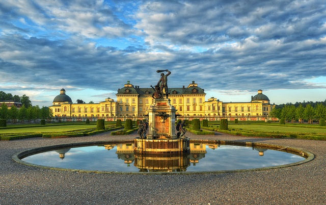 Drottningholm Palace, Drottningholm, Ekerö Municipality, Stockholm County, Sweden