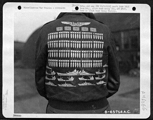 I giubbotti softcore dei piloti americani nella seconda guerra mondiale