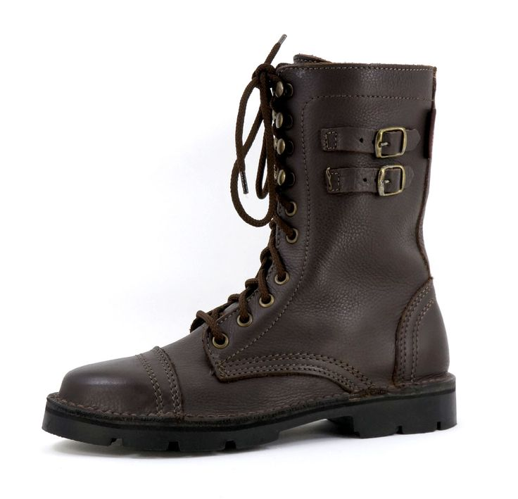 Freestyle ladies Army Oxblood Handmade Genuine Full Grain Leather Boot. R 1399. Handcrafted in Cape Town, South Africa.  Code: 152108 Shop for Freestyle online https://www.thewhatnotshoes.co.za/ Free delivery within South Africa.