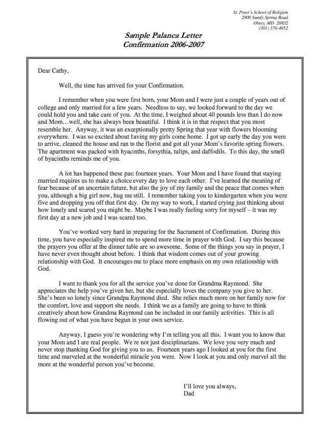 palanca letter sample    resumesdesign com  palanca