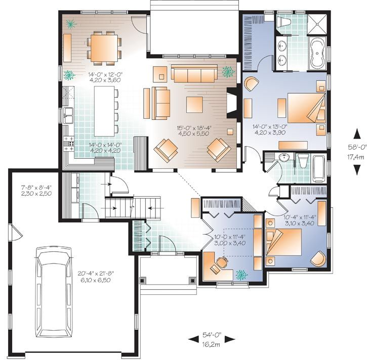 Main Floor Plan: 5-1189