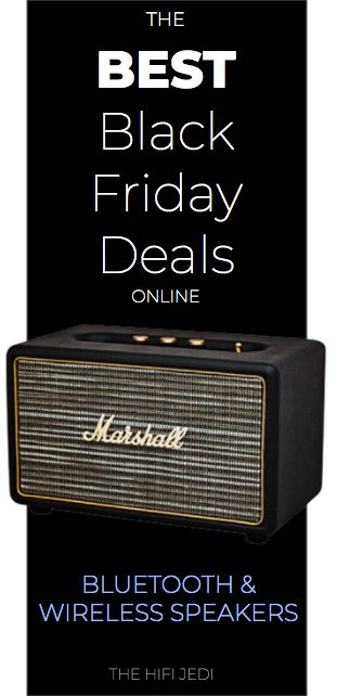We found The Best Black Friday and Cyber Monday deals online for Bluetooth and Wireless speakers from Amazon, eBay, Best Buy and more.  JBL, Sonos, JBL, B&O, UE Boom, Echo, Google.  From The HiFi JEDI