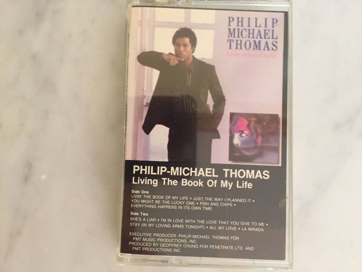 Philip Michael Thomas Living the Book of My Life 1985 Cassette RARE PROMO COPY Collectible Music Miami Vice Music Pop Music Collectible Gift by Samanthasunshineshop on Etsy