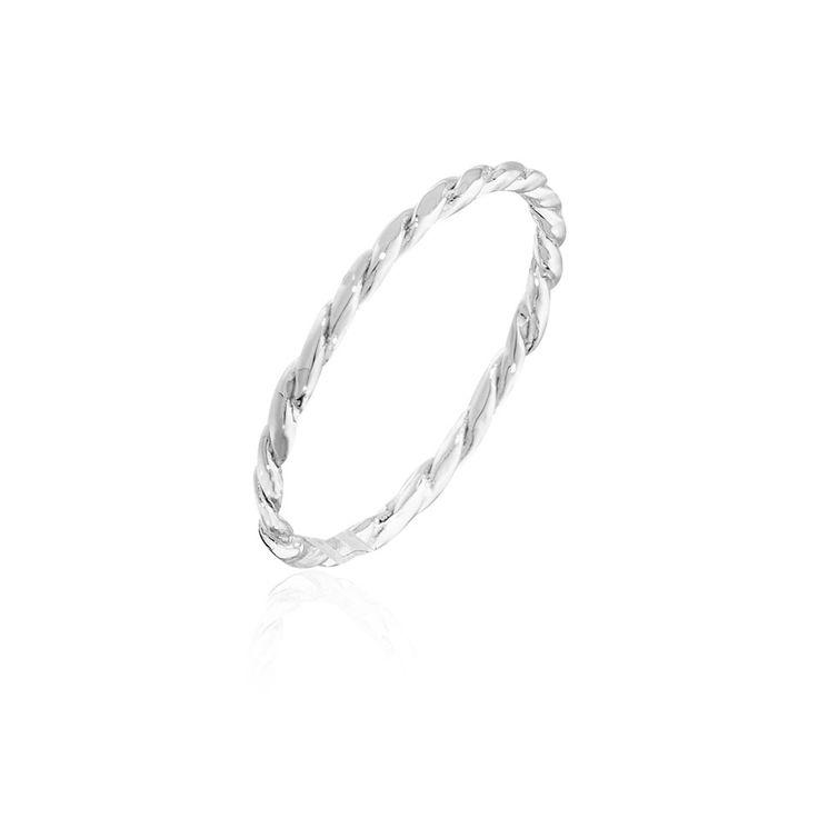 Torsada String Ring in Stirling Silver $84NZD  http://www.agatha.co.nz/agatha-paris-rings.html