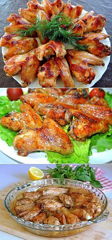 Куриные крылья с гречкой рецепт с фото