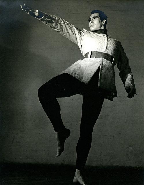 Jose Limon - Viva    Barbara Morgan  (1900 - 1992)  Jose Limon - Viva, 1930s