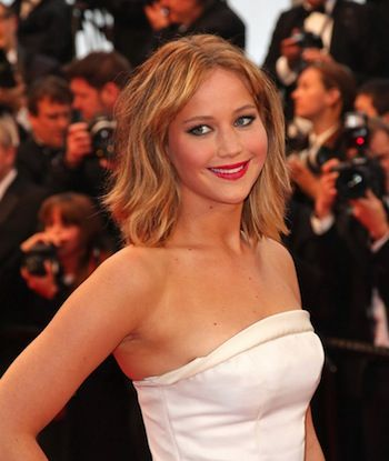 Beauty crush: Jennifer Lawrence's tousled beach hair at Cannes Film Festival