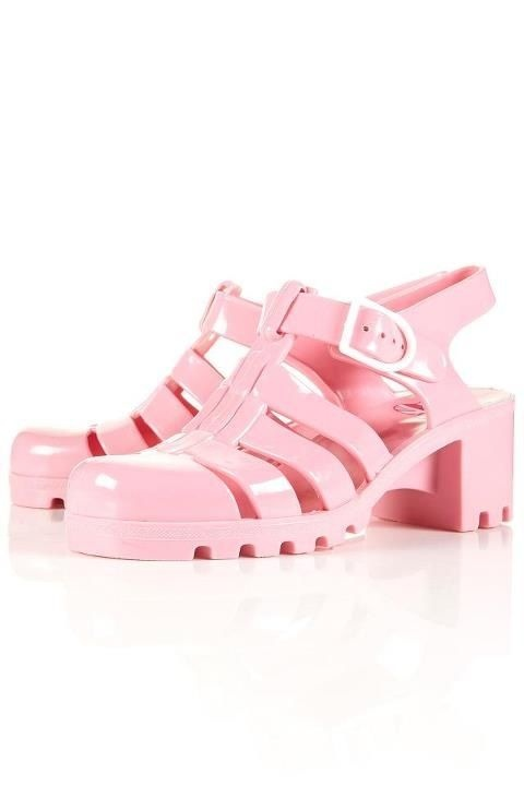jelly shoes | Tumblr #jellies