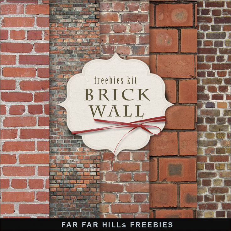 Freebies Kit - Brick Wall:Far Far Hill - Free database of digital illustrations and papers