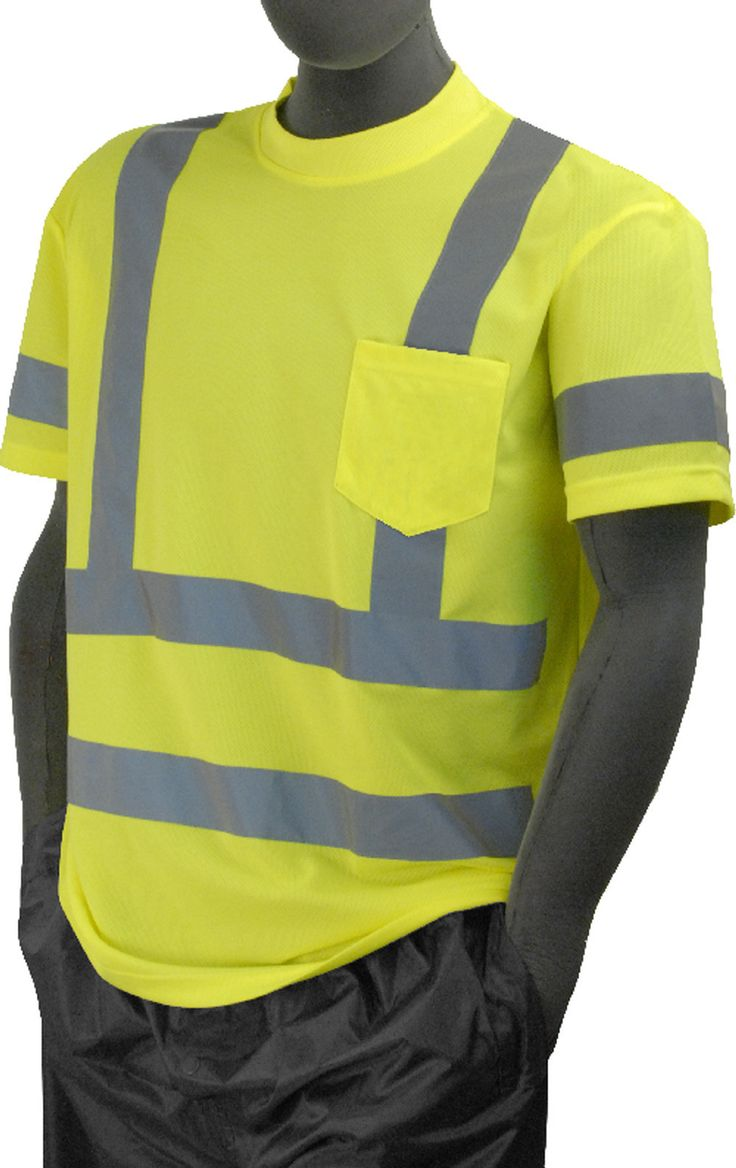 17 images about ansi class 3 safety t shirts on pinterest for Hi vis polo shirts with pocket