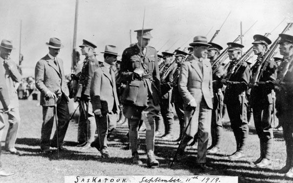 The Prince of Wales in Saskatoon, Saskatchewan during royal visit to Canada, September 1919 / Le prince de Galles à Saskatoon, pendant sa visite au Canada, septembre 1919 | by BiblioArchives / LibraryArchives
