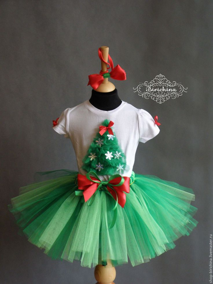 Christmas clothes set for girl | Купить Костюм Елочки - елочка новогодняя, елка, костюм елочки, костюм ёлки, новогодний костюм