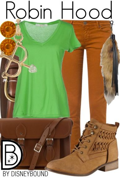You will be the hero of your friends in a Robin Hood inspired outfit.  | Disney Fashion | DisneyFashion Outfits | Disney Outfits | Disney Outfits Ideas | Disneybound Outfits |