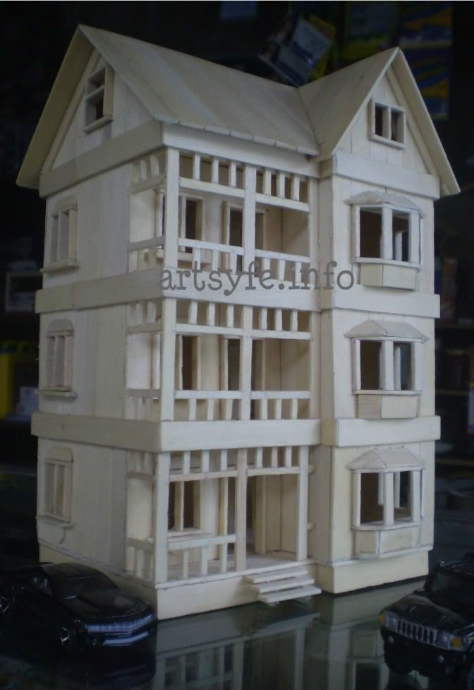 3 level modern house hubby 39 s creations pinterest for How to build a victorian house