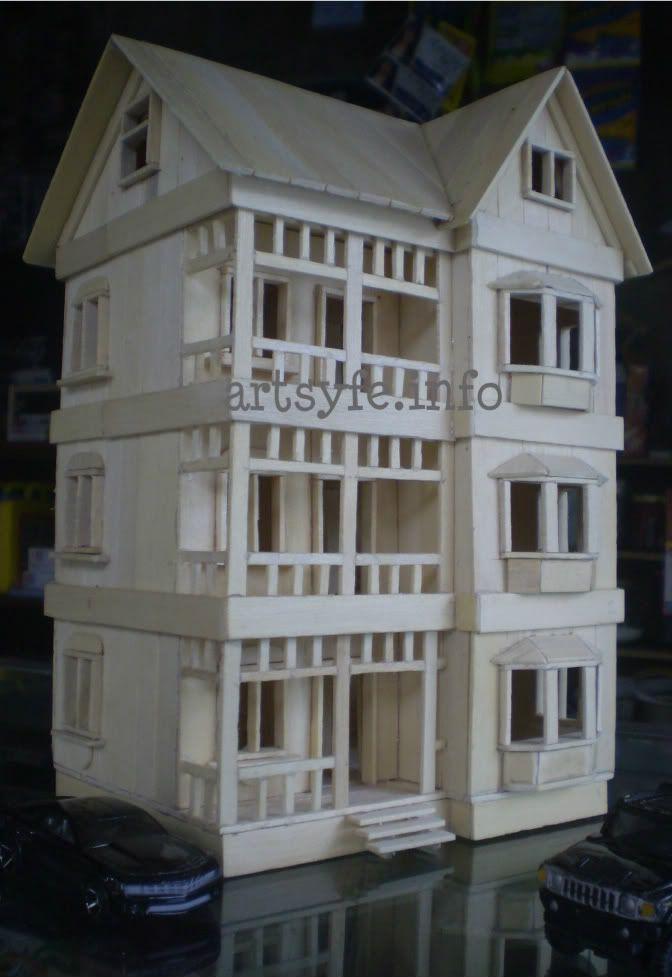 3-level modern house