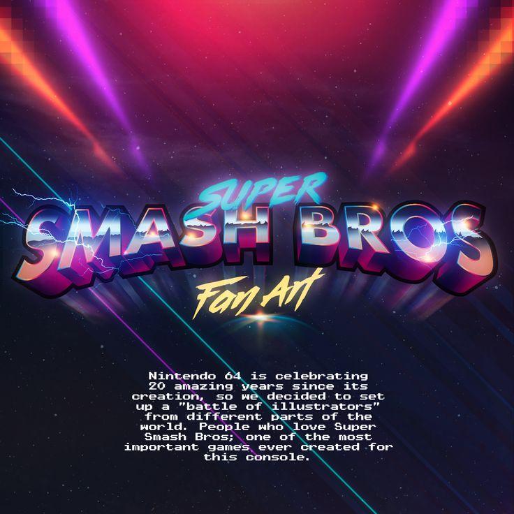 Super Smash Bros - Fan art on Behance