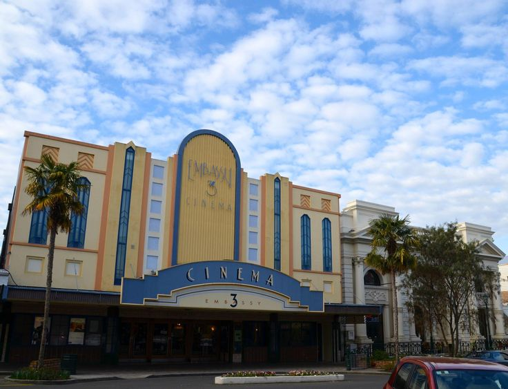 Art Decco movie theatre Wanganui New Zealand