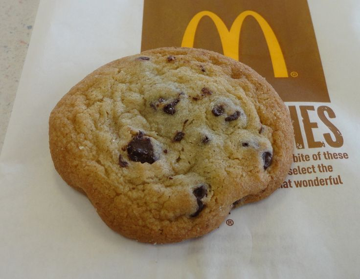 So my husband and I love McDonald's Chocolate Chip cookies. They are one of the best kept secrets in my opinion because, not only are they super delicious, but they are cheap. Anyway, recently I ha...