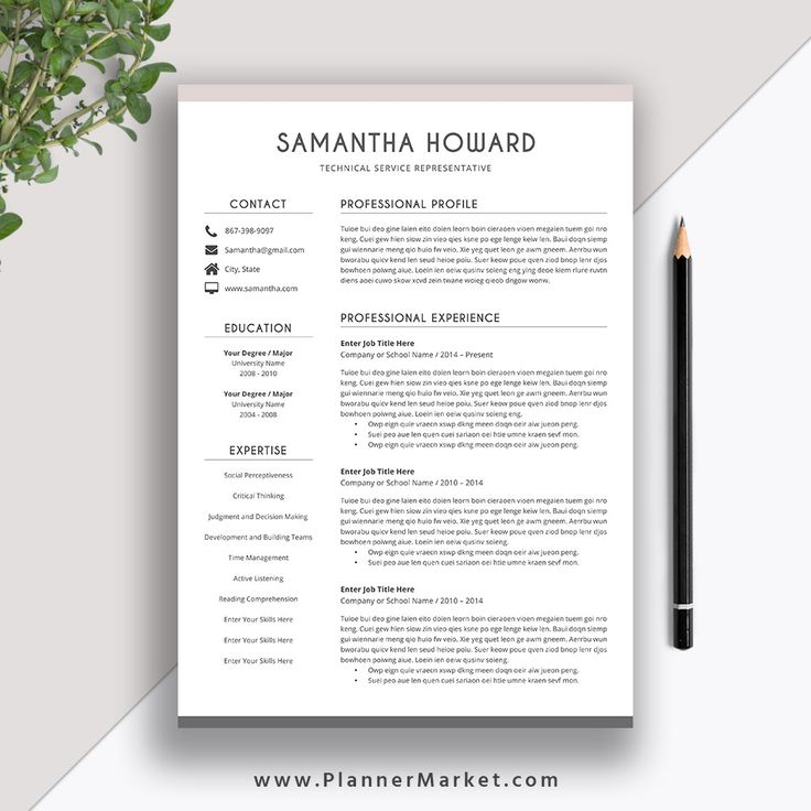 Resume Templates 2020 Free in 2020 Resume template word