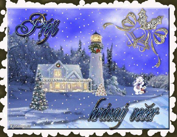 vánoční přání - přáníčka 040