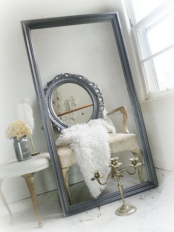 L E A N E R Hollywood Regency Dressing Mirror Furniture Any Color C1950 Vanity Bathroom