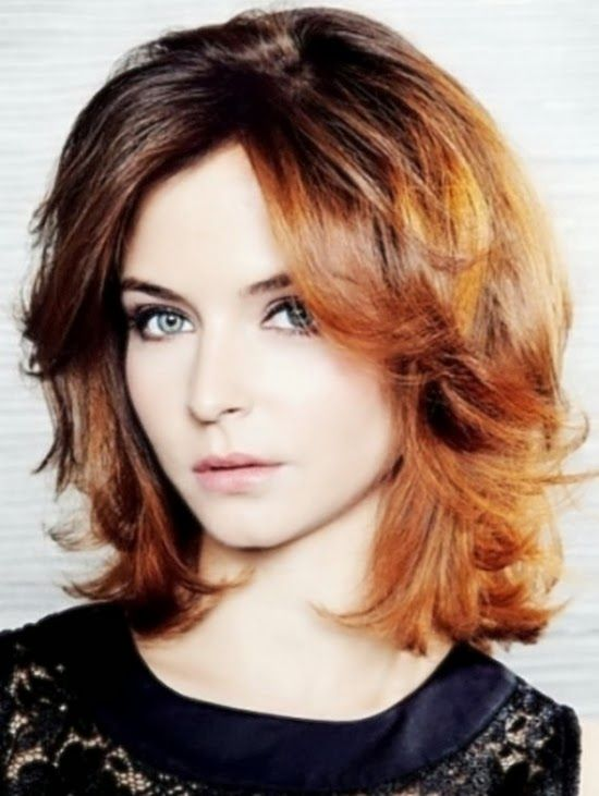 Medium Length Hairstyles For Naturally Wavy Hair : 19 best mode: kapsels images on pinterest