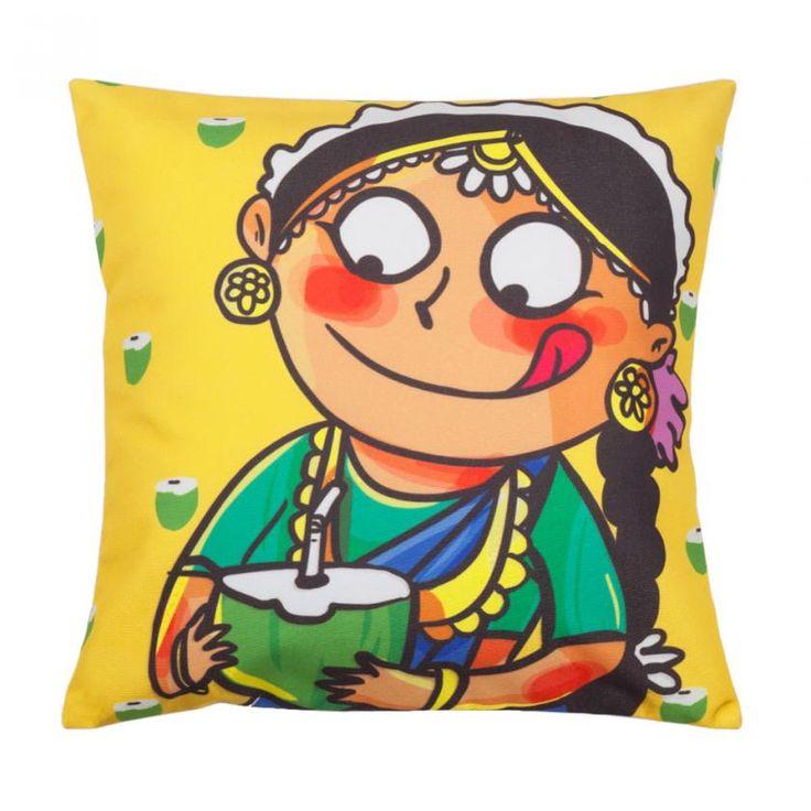 Chumbak Takita Tara Cushion Cover #CHUMBAKSECRETSANTA