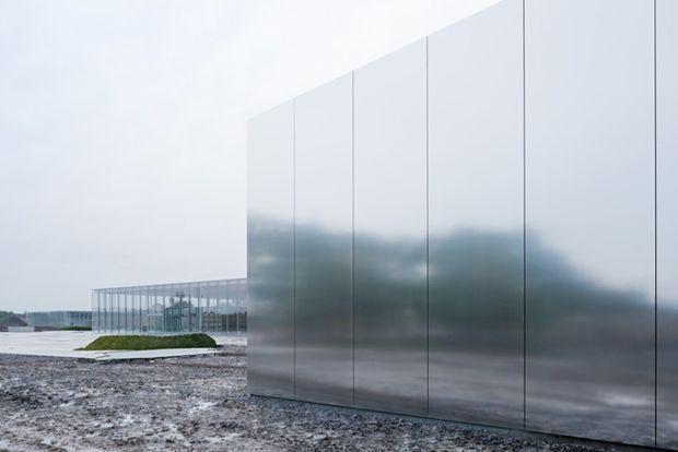 Louvre, Lens - SANAA Aluminium building skin