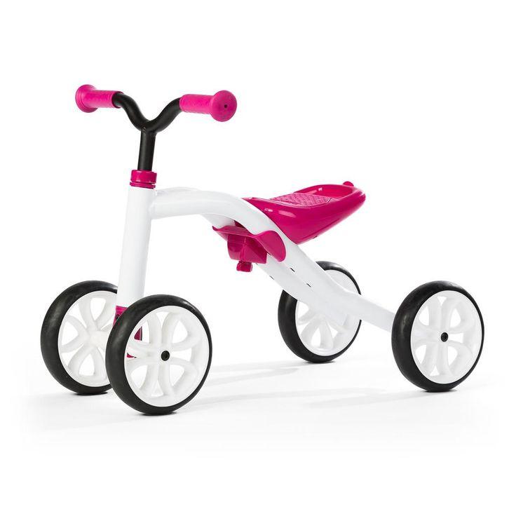 Odrážedlo Quadie růžové - Bambule Království hraček